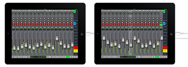 32-Track V-Console iPad Wired