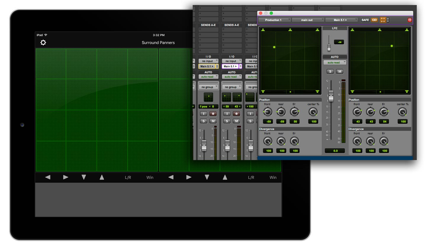 V-Panner with Pro Tools